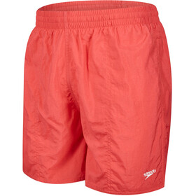 "speedo Solid Leisure 16"" Bathing Trunk Men red"